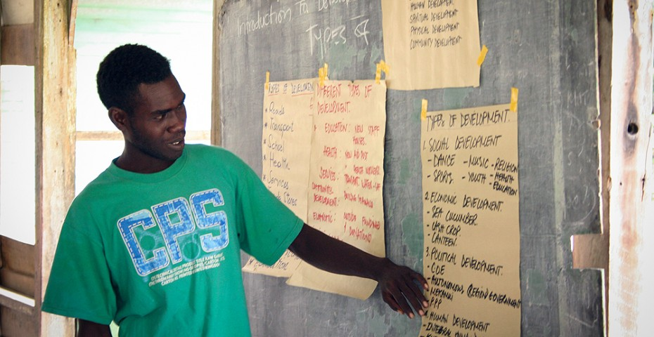 Teacher at St Dominic's School, Bougainville